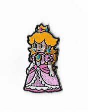 Princess Peach Patch Embroidered Badge Costume Super Mario World All Stars Kart
