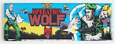Operation Wolf Marquee FRIDGE MAGNET (1.5 x 4.5 inches) arcade video game header
