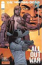 THE WALKING DEAD # 115: ALL OUT WAR BEGINS HERE, PART 1 OF 12. COVER M. IMAGE
