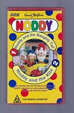 Noddy, Volumes 1 and 2  - 1995 - VHS -