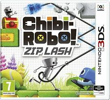 Chibi-Robo! Zip Lash (Nintendo 3DS) BRAND NEW SEALED
