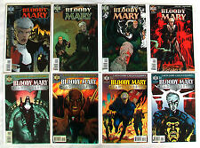 Complete Set of All 8 issues of BLOODY MARY Garth Ennis Carlos Ezquerra HELIX