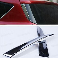 Chrome Rear Window Side Cover Trim Molding for Ford Escape Kuga 2013 2014 13 14