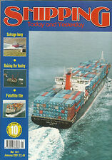 Shipping Today Yesterday Jan 2001  Raising the Hunley Cunard Derbyshire enquiry