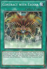 YU-GI-OH CARD: CONTRACT WITH EXODIA - LDK2-ENY29 - 1st EDITION