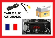 Cable auxiliaire pour brancher ipod ipad iphone autoradio FIAT punto evo 2010.