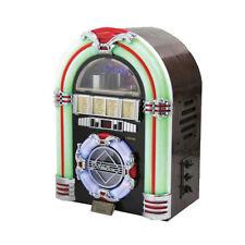 JUKE BOX WOODEN CD/USB/SD ILLUMINAZIONE MULTICOLOR A ROTAZIONE - RICONDIZIONATO