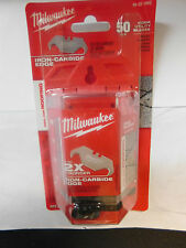 1-MILWAUKEE (48-22-1952) 50 PC.PACK HOOK UTILITY BLADES IRON CARBIDE EDGE NEW