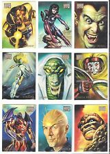 1996 96 MARVEL MASTERPIECES  Single Cards  $7.89  each