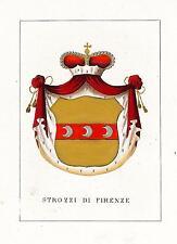 Araldica Stemma araldico della famiglia Strozzi di Firenze