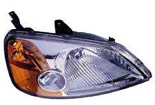 2001-2003 Honda Civic Sedan/2003 Hybrid Right/Passenger Side Headlight Assembly