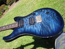 1988 PRS Custom 24 Employee Guitar Blue Burst Artist Quilt Birds Sweet Switch