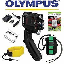 Olympus Stylus Tough TG-Tracker Wifi Action Camera (Black) PACKAGE II