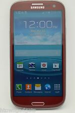 Samsung Galaxy S3 SGH-I747 16GB RED UNLOCKED GSM TMOBILE METRO PCS SIMPLE H2O