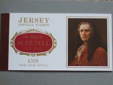 Jersey Postage Stamp Booklet, Martell Cognac issue, Jersey Post Office