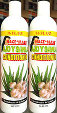 2 Pk Nace + Mass AJO Y SAVILA Conditioner Garlic & Aloe UNSCENTED Revitalizador