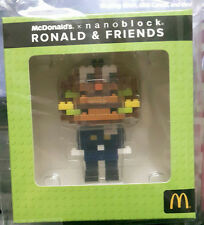 Malaysia Mcdonald Nanoblock Ronald & Friends with box 2016 OFFICER BIGMAC