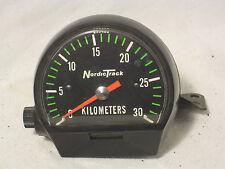 Vintage Nordic Track 833460 Kilometers equipment part meter Stewart-Warner