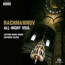 Rachmaninov: All-Night Vigil Super Audio Hybrid CD (CD, Oct-2012, Ondine)