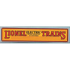 LIONEL TRAINS Metal Sign - Collectible Railroad Art for Decorating Walls -yellow