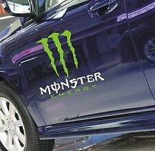 A Pair Amazing Monster Car Door Body Sticker Decal Graphic BMW Audi Ford Peugeot