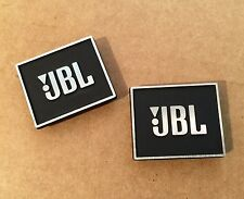 JBL Metal OEM Logos Badges Emblems for L-100 L-300 L36 SOVEREIGN PARAGON L-166