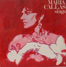 "MARIA CALLAS SINGS MOZART BEETHOVEN WEBER PARIS NICOLA RESCIGNO 12"" LP (d793)"