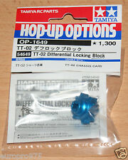 Tamiya 54649 TT-02 Differential Locking Block (TT02/TT-02D/TT02D/TT02S), NIP