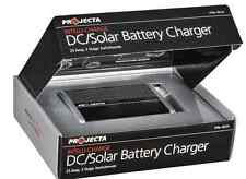 Battery Charger Solar AGM Gel Caravan 4 WD Battery Projecta Dual Purpose Solar