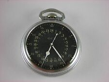 Antique Hamilton 16s 4992B, 22 jewels Navigational 16s pocket watch. Made 1942