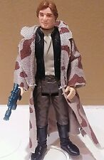 Vintage ROTJ  Star Wars Han Solo Trenchcoat Complete Actiom Figure No COO NICE!