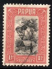 Papua 1932 SG132 11/2d Black and Lake