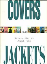 COVERS & JACKETS by Steven Heller & Anne Fink 1993 Graphic Design BOOKS & MAGS