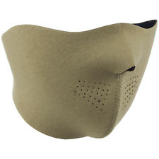 TACTICAL MILITARY PATROL NEOPRENE HALF FACE MASK PAINTBALL AIRSOFT COMBAT COYOTE