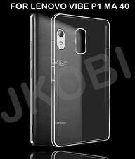 Soft Silicone TPU Transparent Crystal Back Case Cover For LENOVO VIBE P1 MA 40