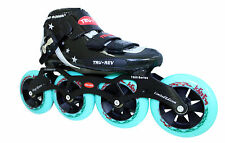 Inline Speed Skates by Trurev. Ceramic bearings. Up to size 9