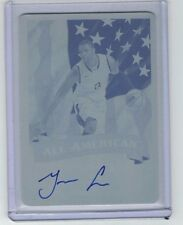 TERRENCE JONES 2012-13 Leaf Signature Series AUTO PRINTING PLATE #1/1 Cyan RC SP