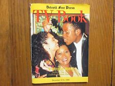 De-1990 Detroit Free Press TV Book/Mag(JASMINE GUY/PATTI LaBELLE/KADEEM HARDISON