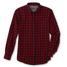 NEW Northwest Territory Men's Flannel Sport Shirt - Red/Black Checkered