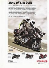 Yamaha FJR1300 classic period motorcycle advert  2015