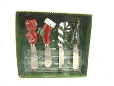 ONEIDA CHRISTMAS HOLIDAY SPREADERS - SET OF 4 - NEW IN BOX