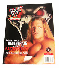 WWE TRIPLE H THE GAME APRIL 1999 WRESTLING MAGAZINE RARE