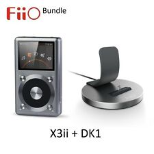FiiO X3/X3ii 2nd Gen (FLAC/WAV/MP3) Digital Audio Player / DAC + DK1 USB Dock
