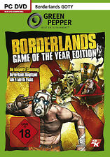 Borderlands-GOTY Game of the Year Edition para PC | gp | mercancía nueva | DT.