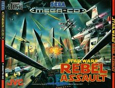 # Star Wars Rebel Assault-Sega Mega-CD/MCD juego-Top #