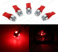 5Pcs Red Roof Cab Marker Clearance LED SMD Bulbs Lights Fit 2003-2009 Hummer H2