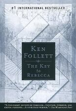 Lot of 3 Ken Follett Reprint Large Trade Paper- Key Rebecca Jackdaws Whiteout