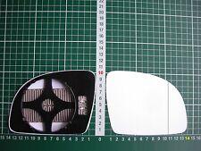 Außenspiegel Spiegelglas Ersatzglas VW New Beetle ab 1997-03 Re asph beheizt