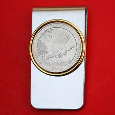 US 2015 Louisiana Kisatchie National Forest BU UNC Quarter Coin Money Clip