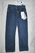 HUGO BOSS ALABAMA REGULAR BOTTOM DARK  WASH ADJUSTABLE WAIST  4-10 YEARS JEANS 4